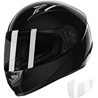 $53 » GLX Unisex-Adult GX11 Compact Lightweight Full Face Motorcycle Street Bike Helmet with…
