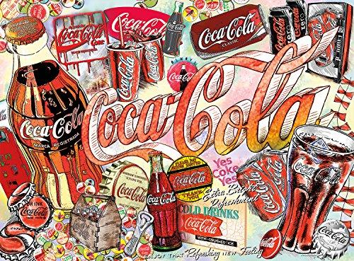 Buffalo Games - Enjoy Coca-Cola - 1000 Piece Jigsaw Puzzle (Coca Cola Jigsaw Puzzle)
