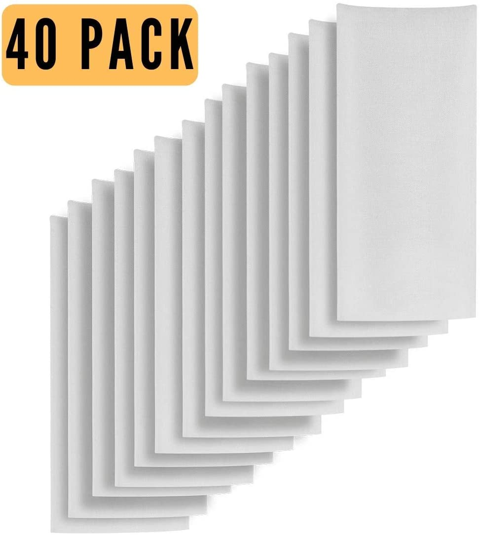 40pc in Total 2x4.5 Inch Nylon Filter Press Bags Pairs It Well with Cylinder Pre Press or 2x4 Pre-Press Mold 37 Micron Bulk Filter Pack