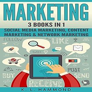 Social Media Marketing: 3 Books in 1 Audiobook