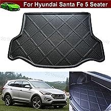 Car Boot Pad Carpet Cargo Mat Trunk Liner Tray Floor Mat For Hyundai Santa Fe 5 Passenger 2013 2014 2015 2016 2017