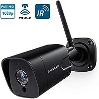 $39 » Outdoor Security Camera, 1080P WiFi Camera Wireless Surveillance Cameras, PIR Smart Motion…