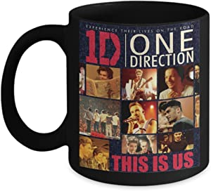 ONE DIRECTION This is US MUG One Direction Coffee Mug - One Direction 1D Beautiful Christmas Gifts - Features a Stunning Image of Niall Horan, Zayn Malik, Liam Payne, Harry Styles