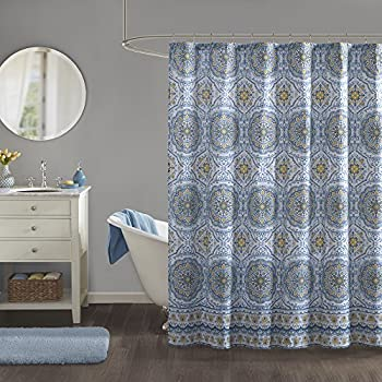 Amazon Madison Park MP70 1489 Tangiers Shower Curtain 72 X