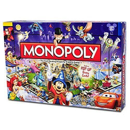 - Disney Theme Park Edition III Monopoly Game