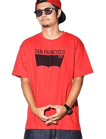 4921c6b54648ff (リーバイス) Levi's Tシャツ SAN FRANCISCO サンフランシスコ ロゴプリント USAモデル ブラック 2XL [