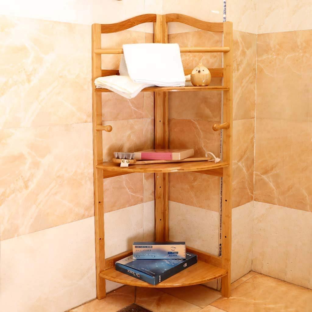 ventas al por mayor FuweiEncore Estante de bambú bambú bambú Estante Estante de baño Estante del Estante del Estante del Piso Sanitario Piso Sanitario (Color : -, tamaño : -)  barato y de alta calidad