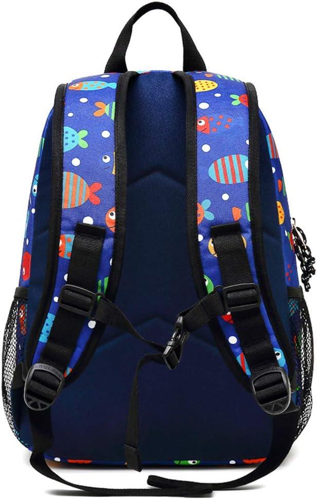 MATMO Girls Backpack Cute Printing Daypack Waterproof School Bag for Late Teens Sky Blue