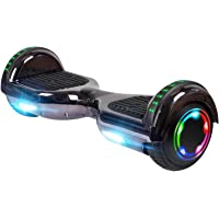 """$137 » UNI-SUN Chrome Hoverboard for Kids, 6.5"""" Two Wheel Electric Scooter, Self Balancing…"""