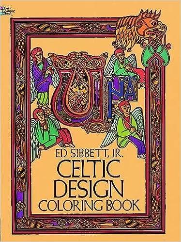Celtic Design Coloring Book Dover Coloring Books Amazon De Ed