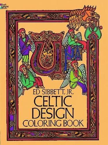 Celtic Design Coloring Book Dover Design Coloring Books