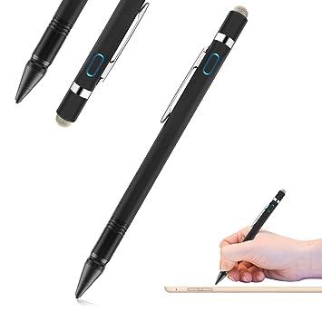 Funxim Lápiz Activo Multifuncional, 2-en-1 lápiz Capacitivo Activo de 1,