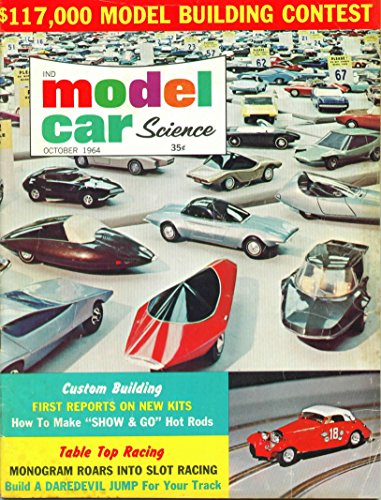 Model Car Science Magazine October 1964