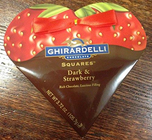 Ghirardelli Square Strawberry Filled Chocolates