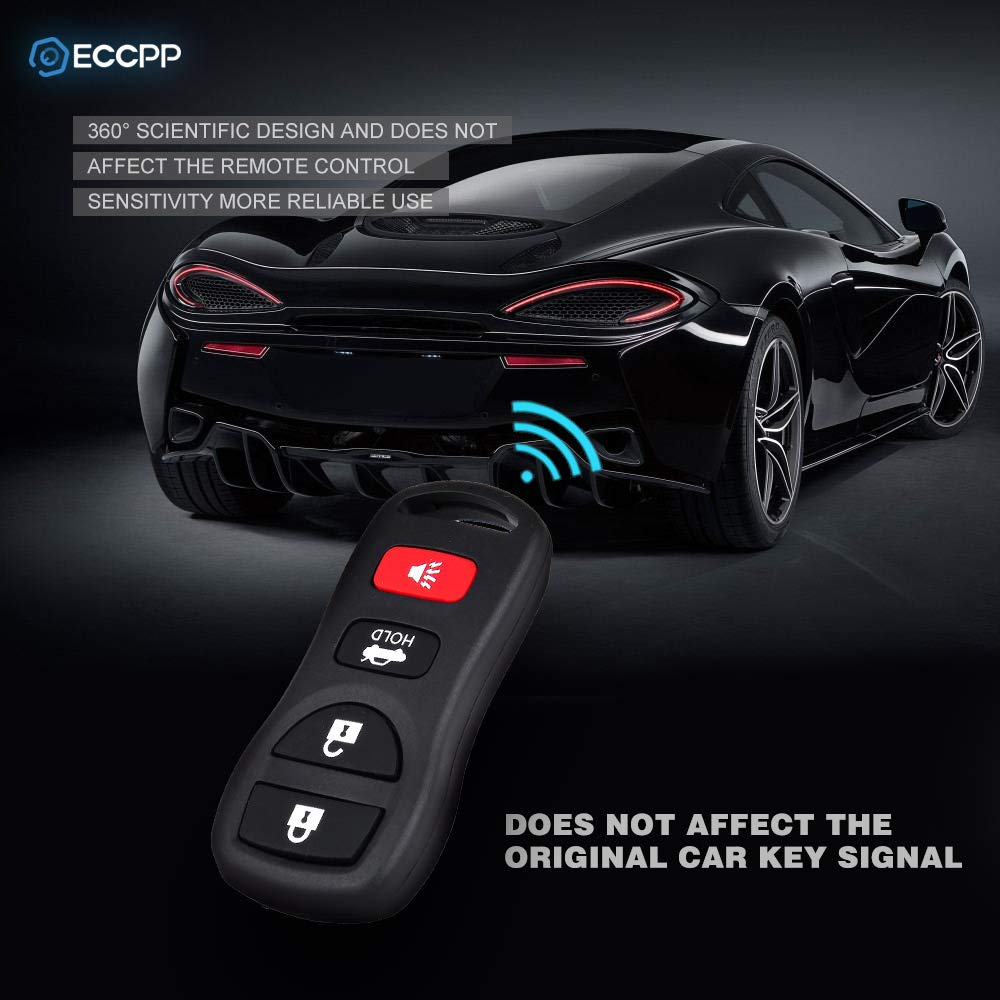 ECCPP Replacement fit for Keyless Entry Remote Control Car Key Fob Nissan Infiniti KBRASTU15 Pack of 1