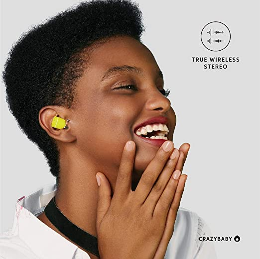 Amazon.com: Crazybaby Air (Nano) True Wireless Bluetooth Earbuds with Charging Capsule, Bluetooth 5.0 Ready, with All Day Battery Life and Microphone.
