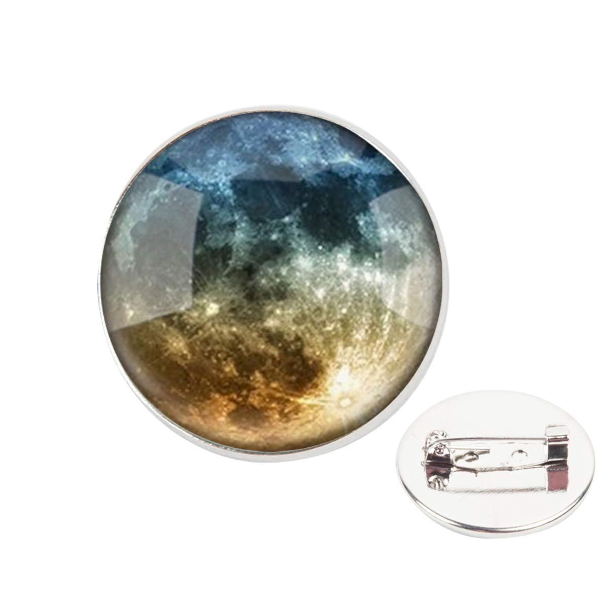 Pinback Buttons Badges Pins Planet Aether Lapel Pin Brooch Clip Trendy Accessory Jacket T-Shirt Bag Hat Shoe