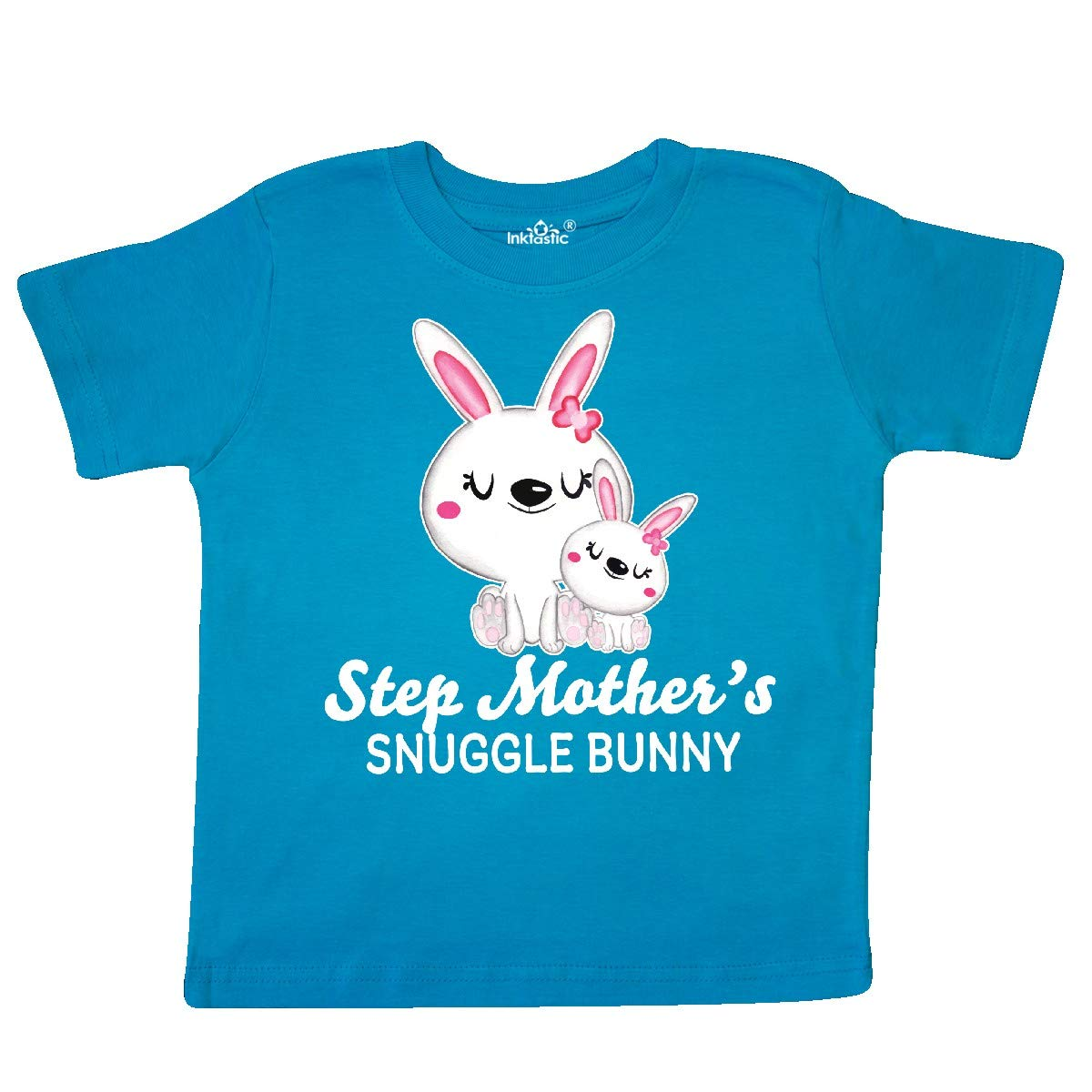 inktastic Step Mothers Snuggle Bunny Easter Toddler T-Shirt