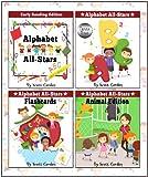 Alphabet All-Stars Academy Volume One (4 Fun Books in 1!)
