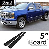 nerf bars 2007 chevy crew cab - eBoard Running Boards Black 5