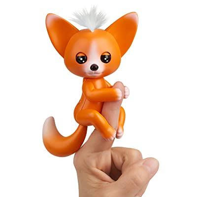 WowWee Fingerlings - Interactive Baby Fox - Mikey (Orange): Toys & Games