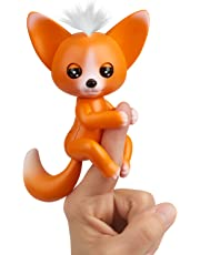 Fingerlings - Interactive Baby Fox - Mikey (Orange) by WowWee