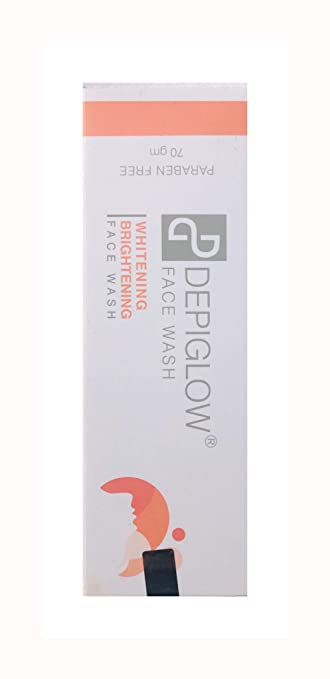 Ethiglo Skin Whitening Face Wash 70 Gm Deep Cleansing Free Shipping