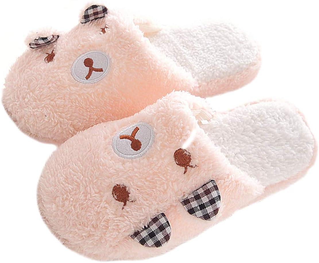 WYSBAOSHU Winter Warm Women Men Indoor Shoe Couples House Slipper