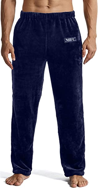 JINSHI Herren Schlafanzughose Lang Pyjamahose Modal Nachtw/äsche Loungewear