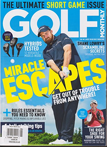 Golf Monthly Magazine - Golf Monthly Magazine August 2016