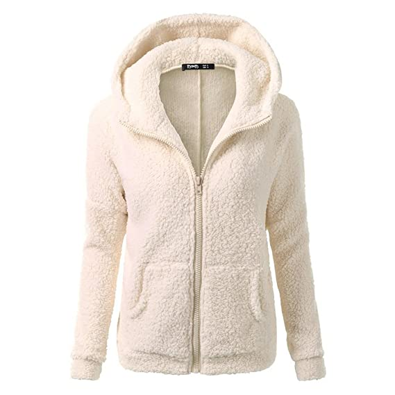 Femme Zip Yying Manches Hoodie Longues Fleece Vestes Manteau Veste qgwUTwApE