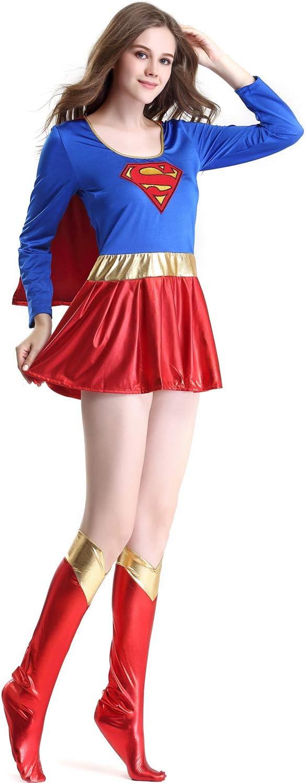 CQY Traje de Supergirl para Las niñas Cosplay de la Fiesta de ...