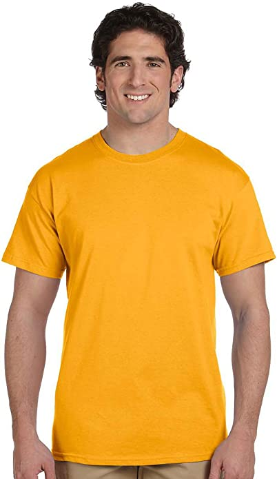 Fruit of the Loom Men/'s Heavy T-Shirt Pack of 5 White M
