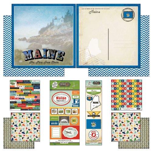 Usa Scrapbook Kit - 1