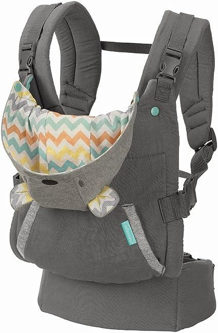 Infantino Porta Bebé Ergonómico Gris