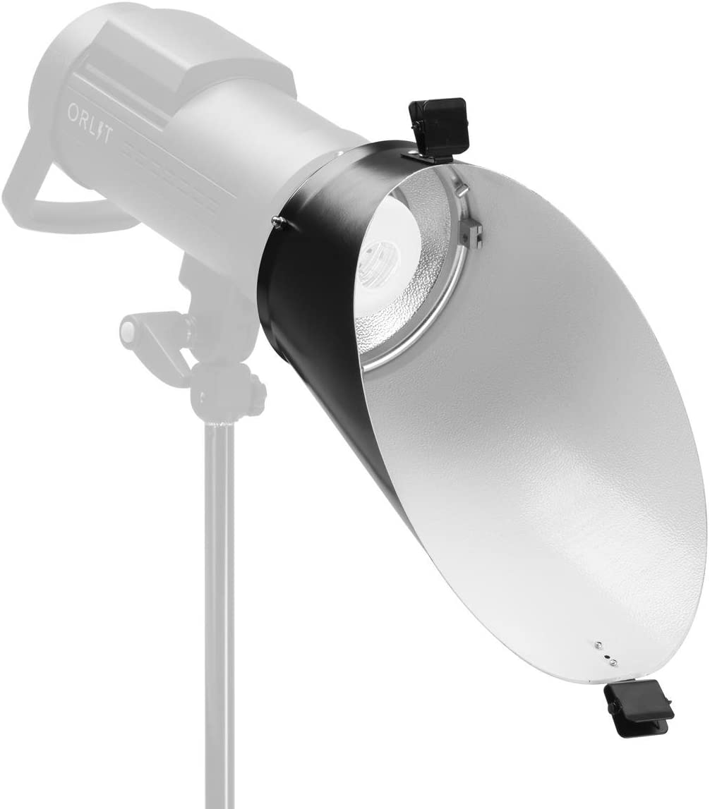 Glow Background Reflector for Bowens Mount Strobes (White)