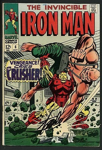 Stan Lee Signed The Invincible Iron Man #6 Comic Book The...