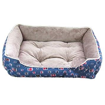 S-XL tamaño grande cama para perros Invierno Deluxe Suave Mascota Cama caliente gatos cojín con forro polar: Amazon.es: Productos para mascotas