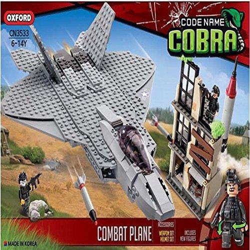 Oxford Code Name Cobra Combat Plane Military Army Lego Style ...