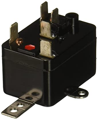 Supco 90293 General Purpose Fan Relay, 1 A Load Current, 24 V Coil on