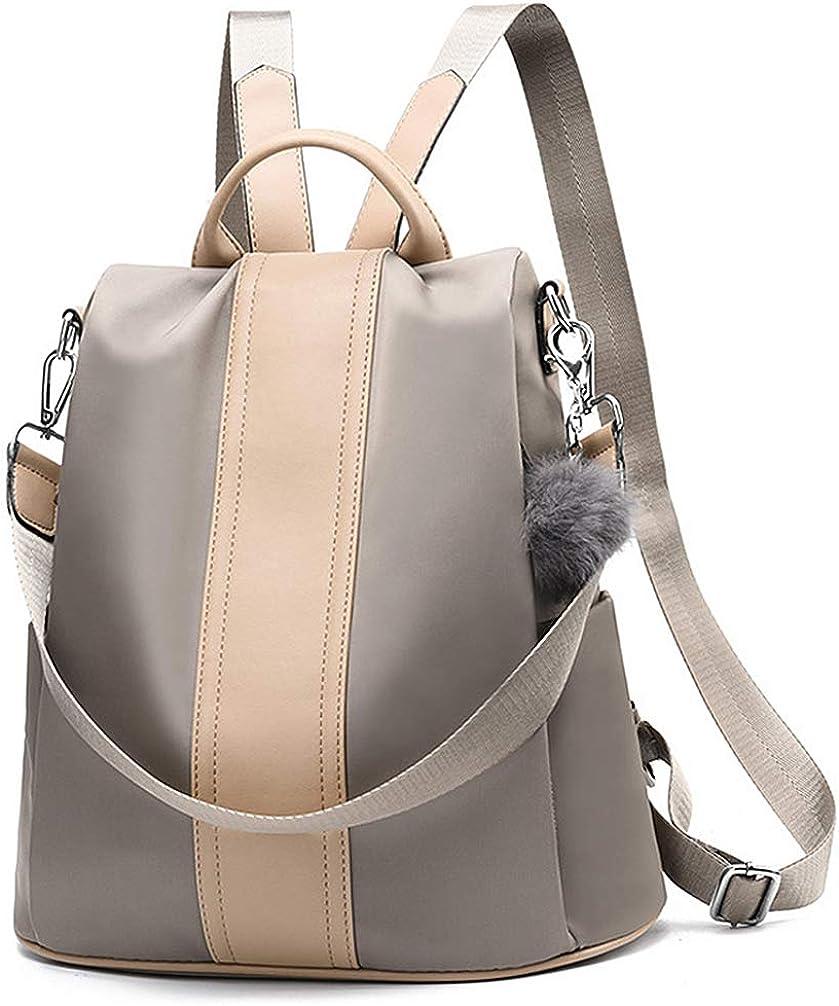 Women Backpack Purse Waterproof Anti-theft Rucksack Lightweight School Shoulder Bags