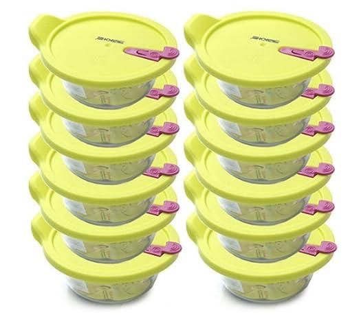 Rice Storage - Recipiente de alimentos para microondas y horno (12 ...