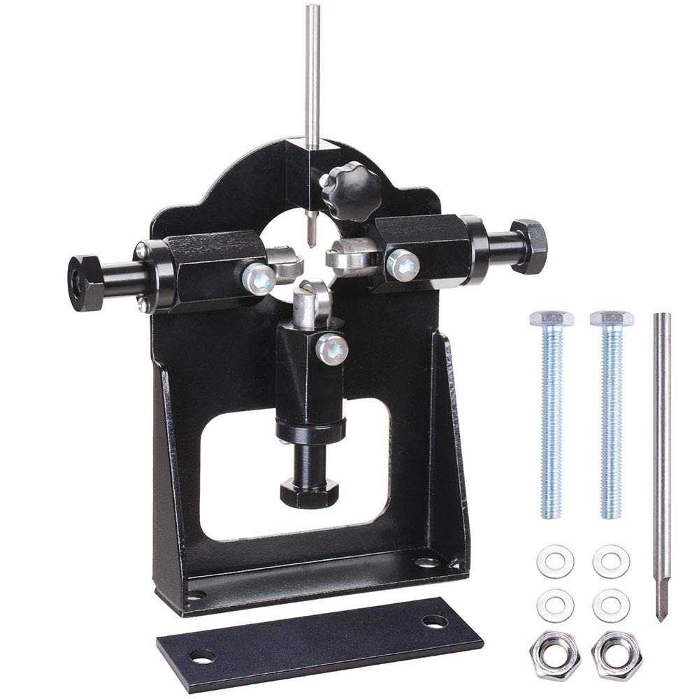 Yescom Metal Manual Wire Stripping Machine 2 Blades for 1/16'' to 13/16'' Scrap Cable Stripper Copper Recycling Tool