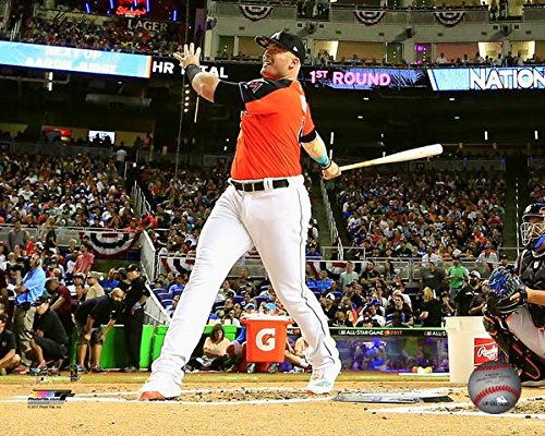 "Justin Bour Miami Marlins Home Run Derby Photo (Size: 8"" x 10"")"