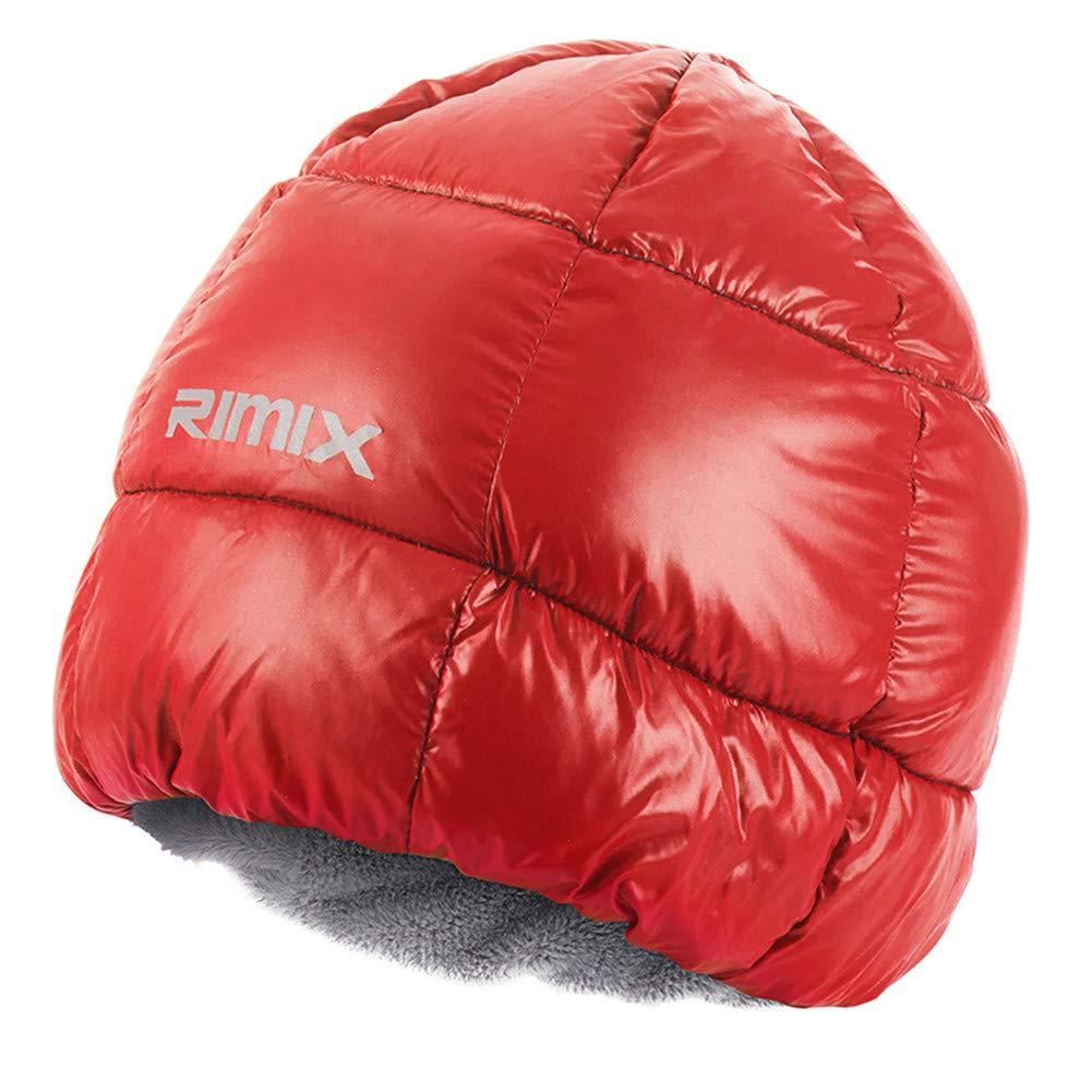 407b6e66020 Unisex Thermal Fleece Beanie Down Hat