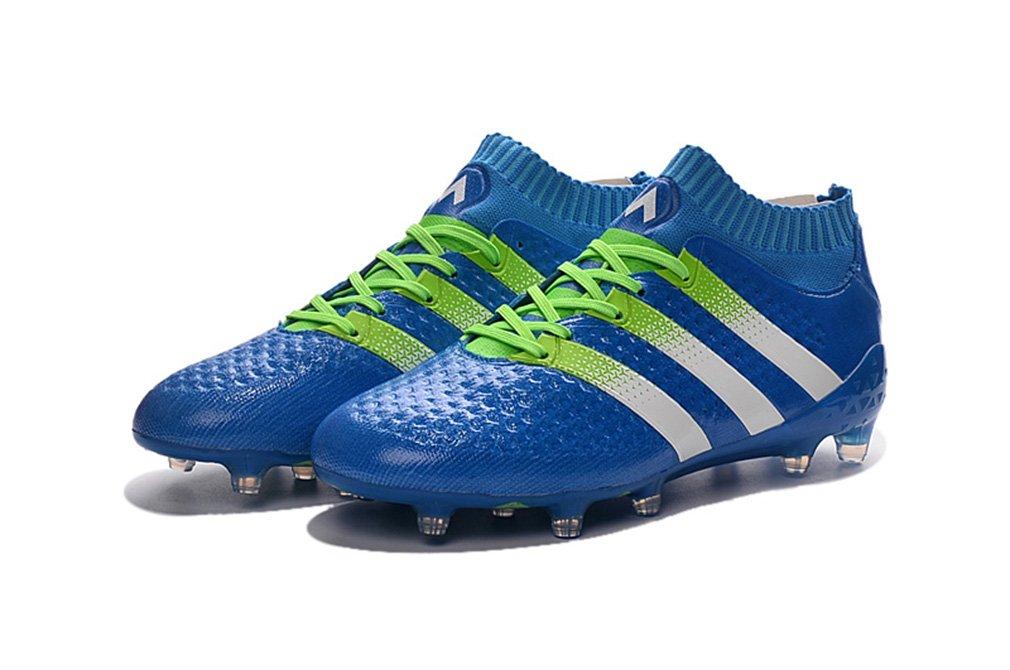 Herren Performance Ace 16,1 Primeknit Obra FG AG High Top Blau Fußball Schuhe Fußball Stiefel