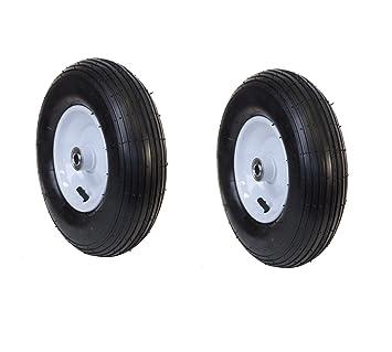ALEKO 2 wbap13 Césped neumático de repuesto soldado Llanta Rueda para carretilla, 13 pulgadas Aire