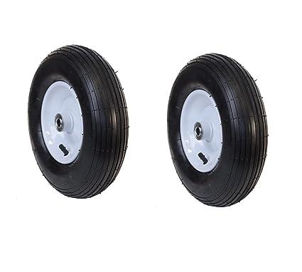Amazon.com: Aleko® 2 wbap13 acanalado neumático rueda de ...