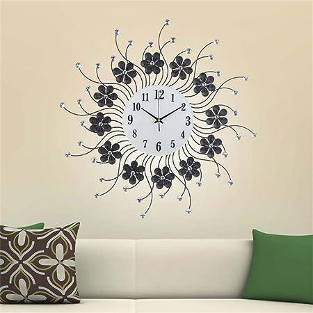 Belle horloge murale de mode Mode de création salon horloge ...