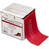 Thera-Band Medium 25 Yard-Latex Free Exercise Bands, Red